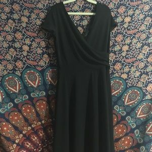 New York & Co Microfiber Vintage Look Dress medium